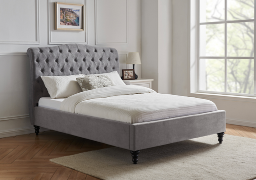 Rosa Fabric Bed Frame - Modern Home Interiors
