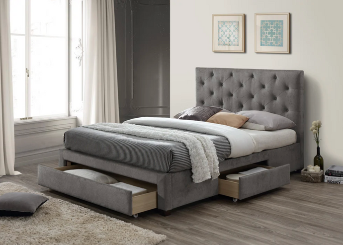 Monet Fabric Bed Frame - Modern Home Interiors