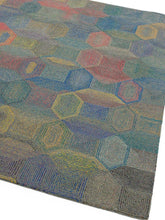 Load image into Gallery viewer, Camden Hand Tufted Luxury Grey/Multicolour Rug - Modern Home Interiors