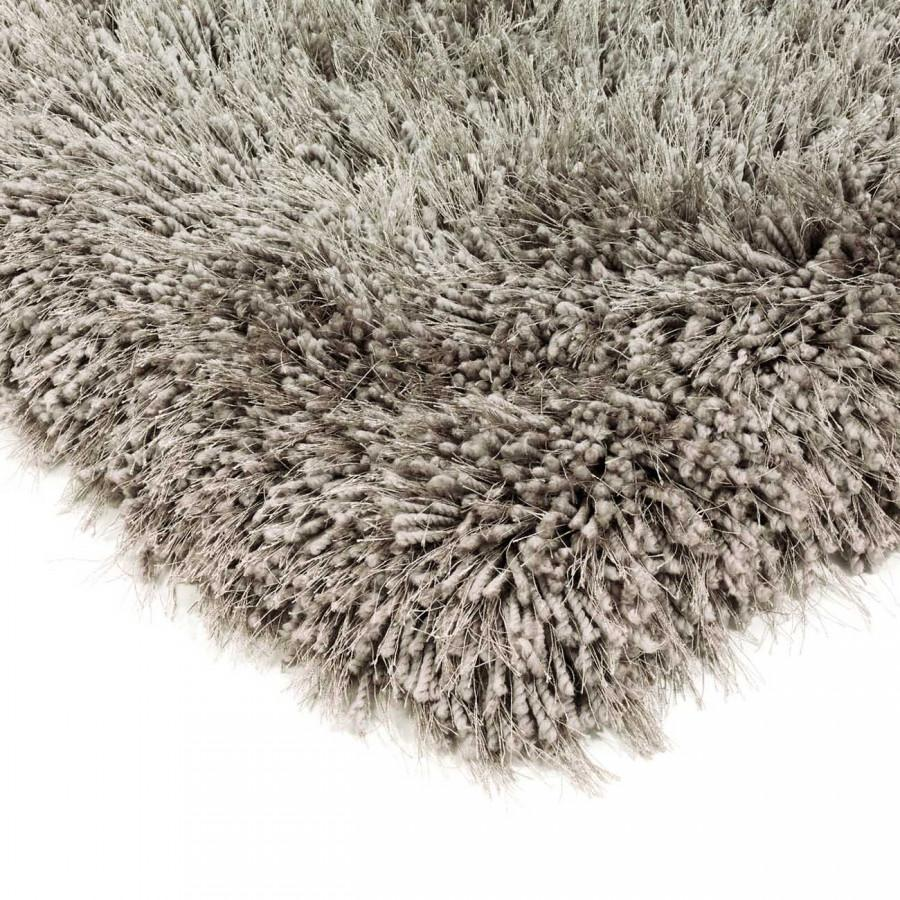 Cascade Taupe Luxury Polyester Rug by Asiatic - Modern Home Interiors