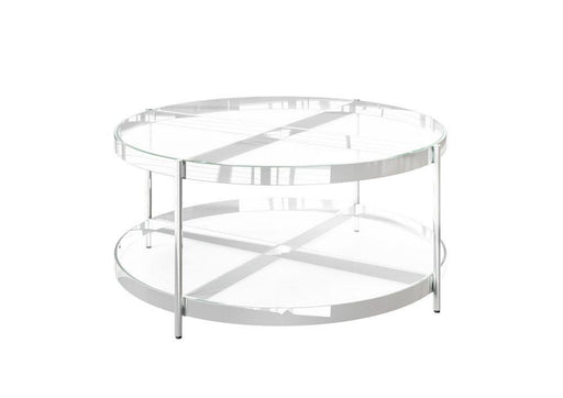 Omari Glass Coffee Table - Modern Home Interiors