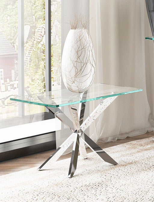 Gabriella Glass Side Table - Modern Home Interiors