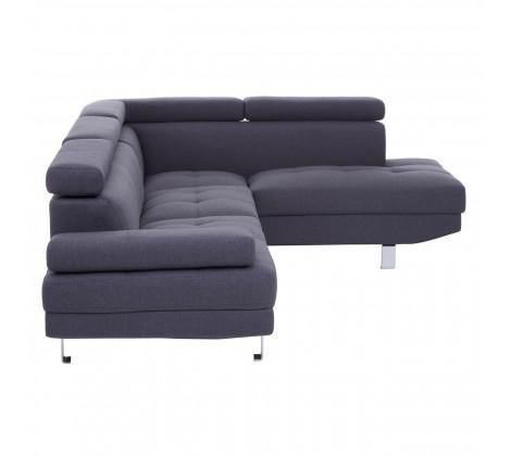 Hanover Large Grey Linen Sofa - Modern Home Interiors