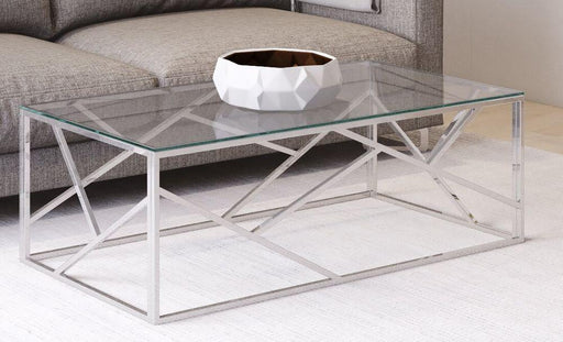 Kieta Glass Coffee Table - Modern Home Interiors