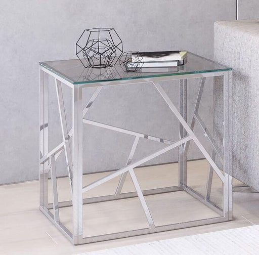 Kieta Glass Side Table - Modern Home Interiors