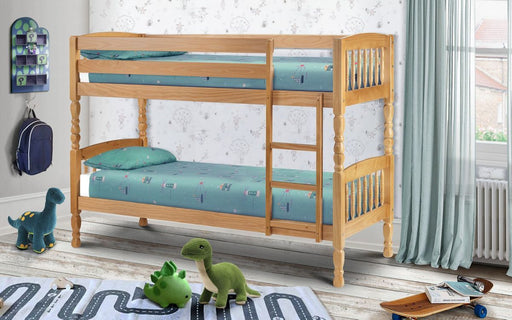 "Lincoln 3'0"" Single Bunk Bed - Modern Home Interiors"