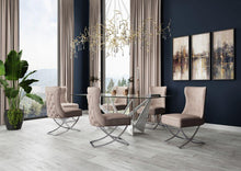 Load image into Gallery viewer, Maria Velvet Button Back Dining Chair - Modern Home Interiors