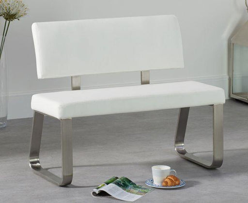 Malibu Bench with Back - 3 Sizes and Colours - Modern Home Interiors