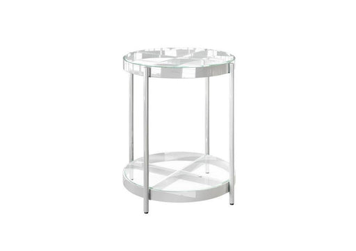Omari Glass Side Table - Modern Home Interiors