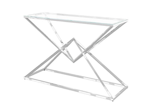 Prism Glass Console Table - Modern Home Interiors