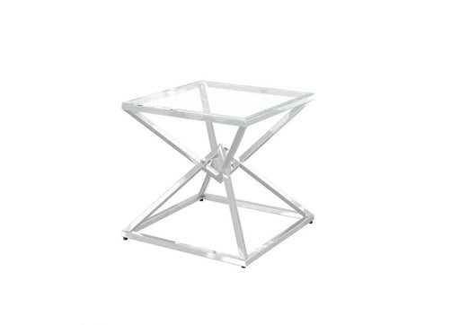 Prism Glass Lamp Table - Modern Home Interiors