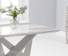 Load image into Gallery viewer, Rosario 150cm Rectangular High Gloss Light Grey Dining Table - Modern Home Interiors