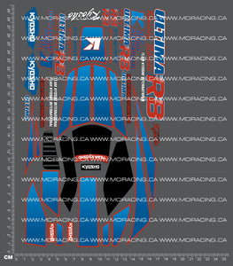 1/10TH KYOSHO - ULTIMA RB DECALS