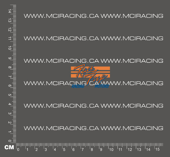 540 MOTOR DECALS - RACE PREP RACING MOTORS - BLUE