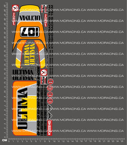 1/10TH KYOSHO - ULTIMA DECALS