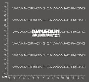 540 MOTOR DECAL - DYNA RUN SUPER TOURING MOTOR