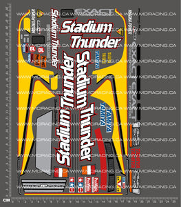 1/10TH TAM 58181 - STADIUM THUNDER DECALS