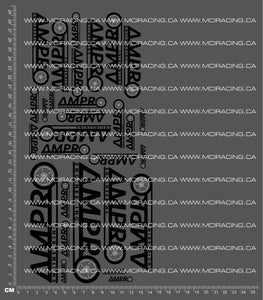 1/10TH AMPRO ENGINEERING DECALS