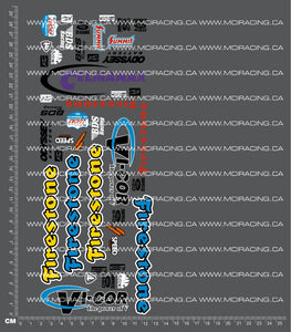 1/10TH MONSTER TRUCK - VICOR DECALS FB