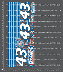 1/10TH RICHARD PETTY DECALS