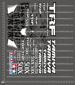 1/10TH TAM - 501X DECALS