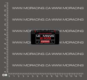 540 MOTOR DECAL - KYOSHO LEMANS 240S