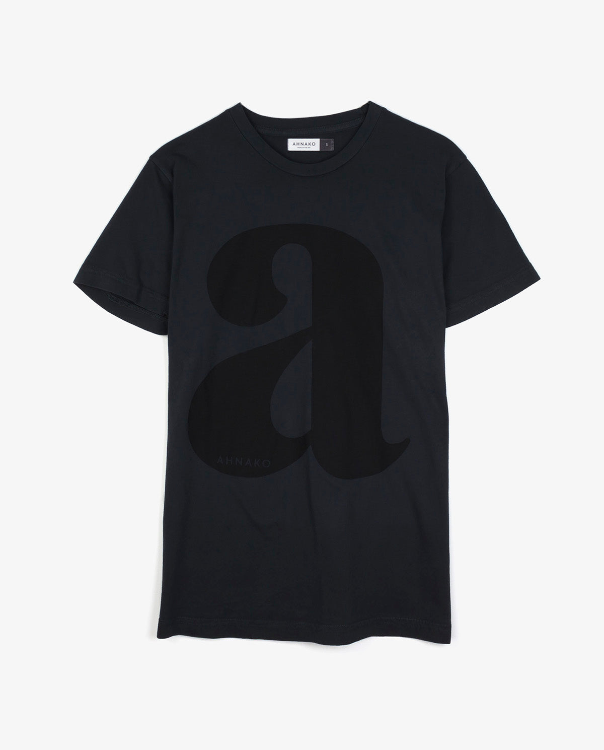 "Lowercase ""a"" - Vintage Black T-shirt"