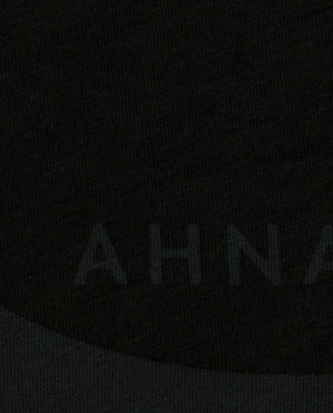 "Ahnako Women's Lowercase ""a"" - Vintage Black Close Up"