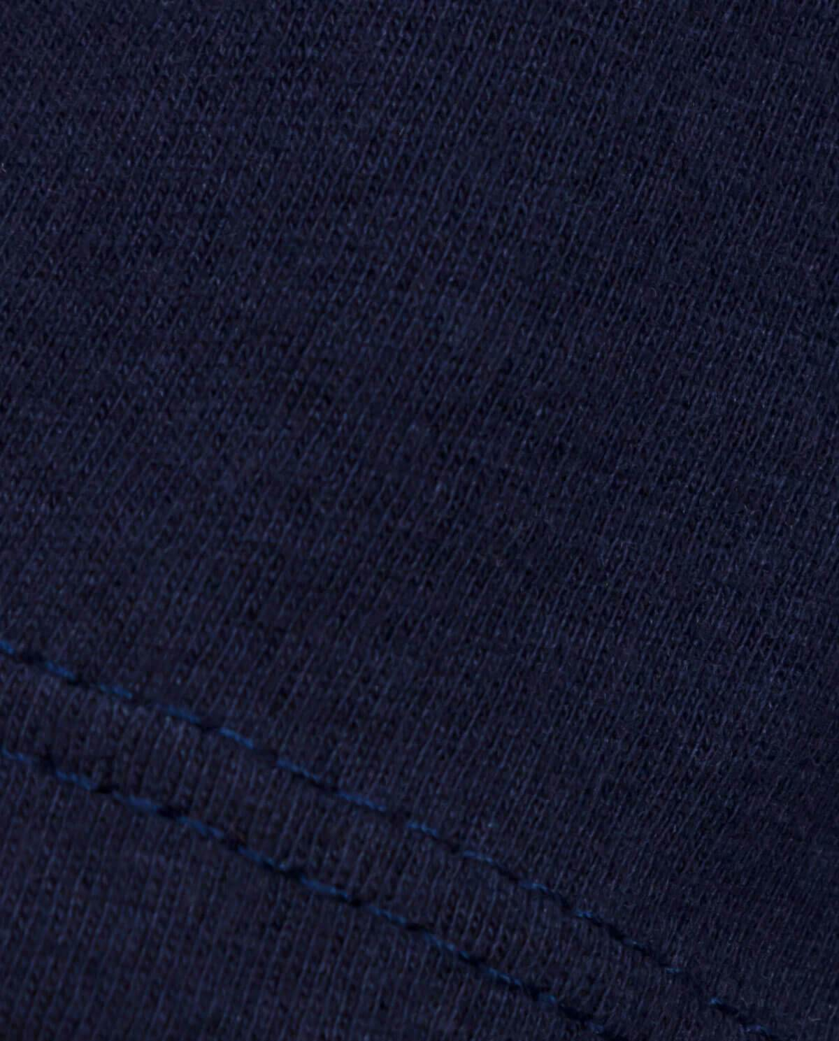 Ahnako Women's Mountains - Midnight T-shirt - Fabric Close Up