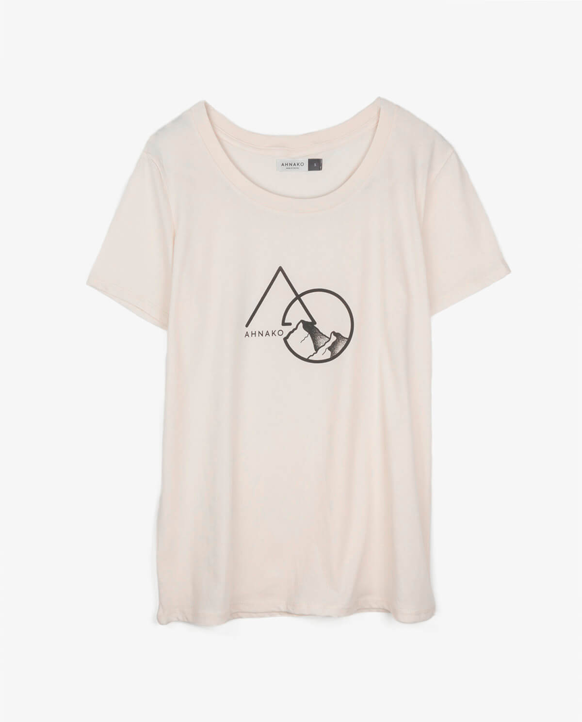 Ahnako Women's Mountains - Rose Quartz T-shirt