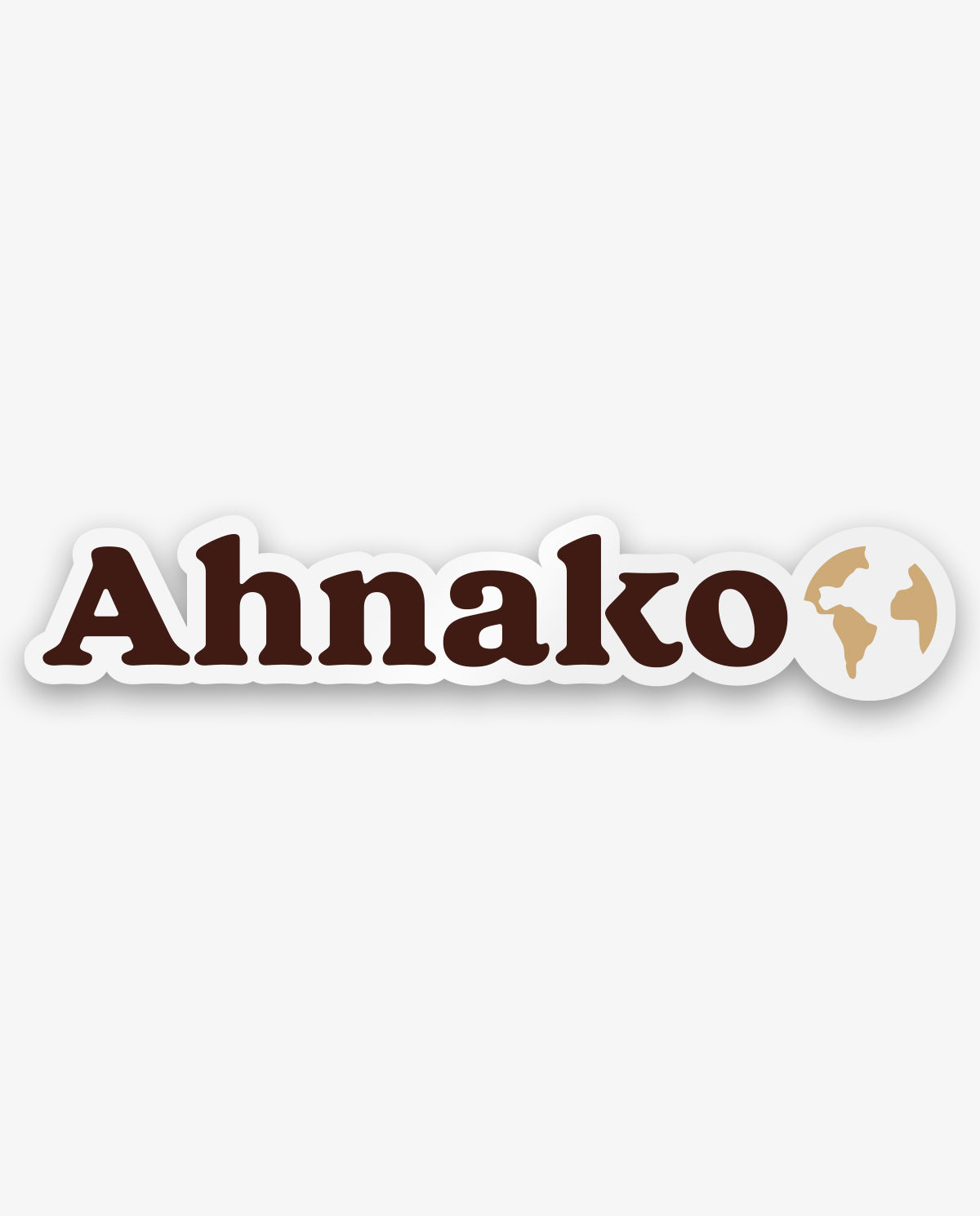 Ahnako planet sticker