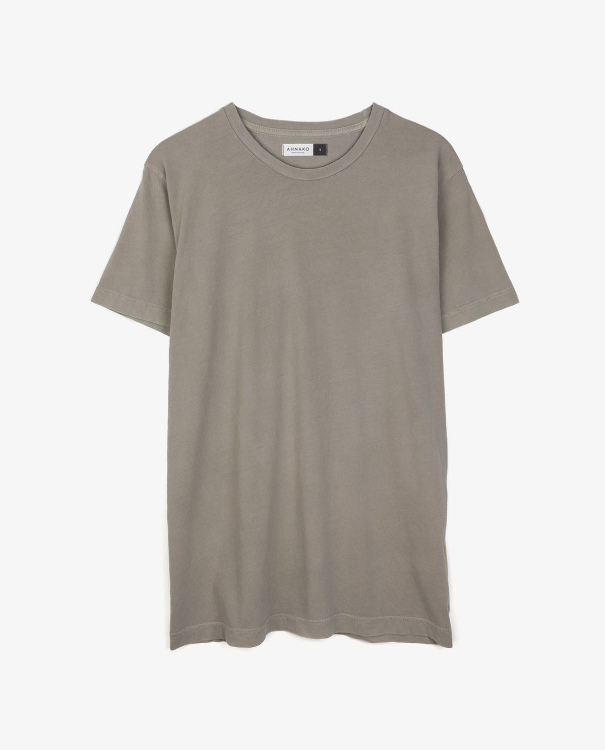 Ahnako Basic Tee Shirt - Suva Grey