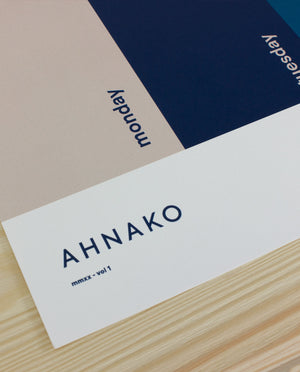 Ahnako the work week poster close up