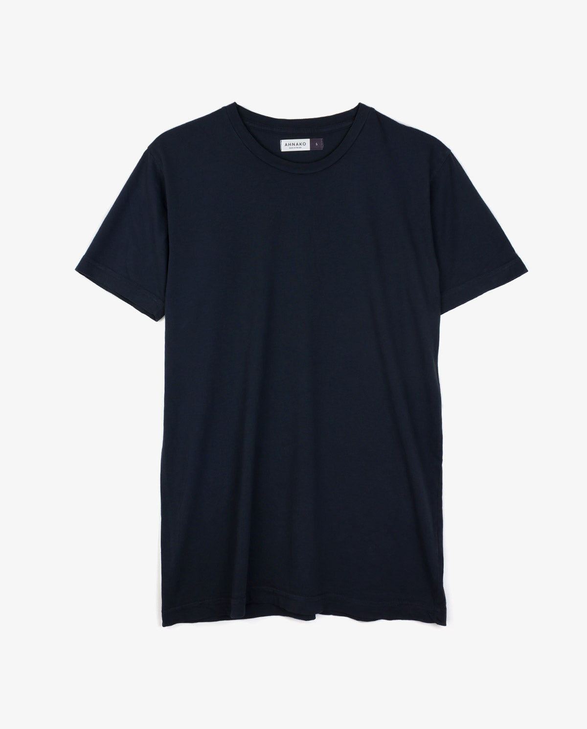 Ahnako Basic Tee Shirt - Vintage Black