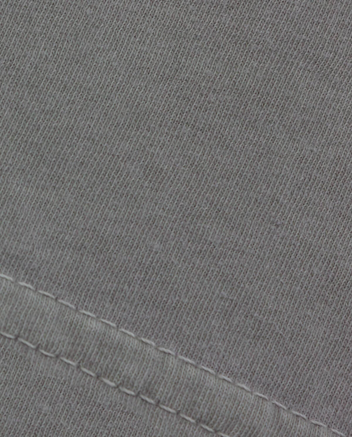Ahnako Basic Tee Shirt - Suva Grey - Fabric Close Up