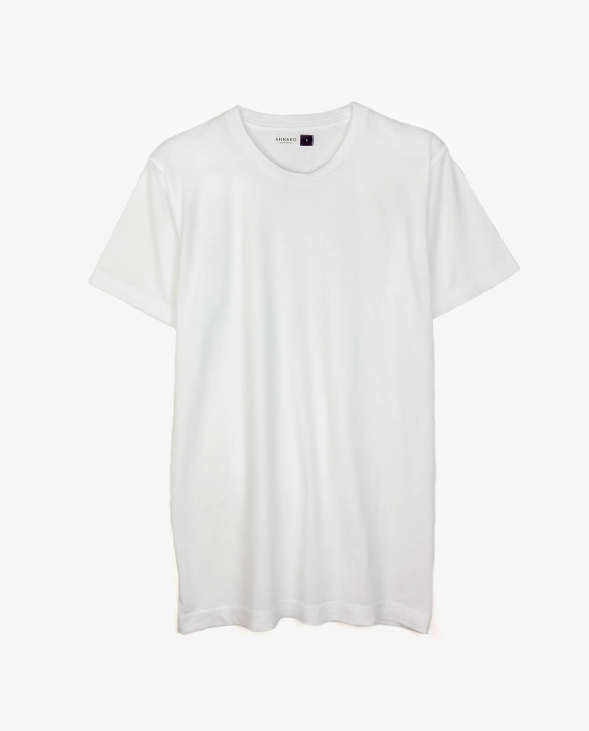 Ahnako Basic Tee Shirt - White