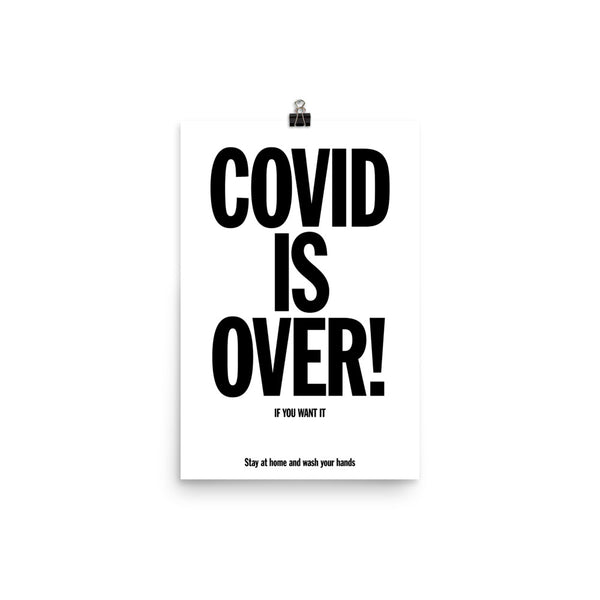 Covid is over! by Stefano Lucchetti
