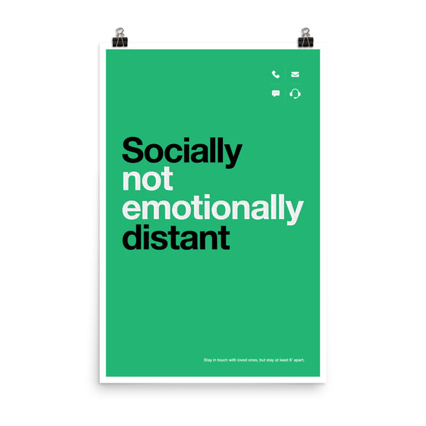 It's Social, Not Emotional. by Eric Venegas