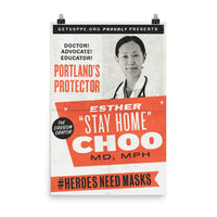 Dr. Esther Choo MD, MPH by Mark Kelner & Ben Ostrower