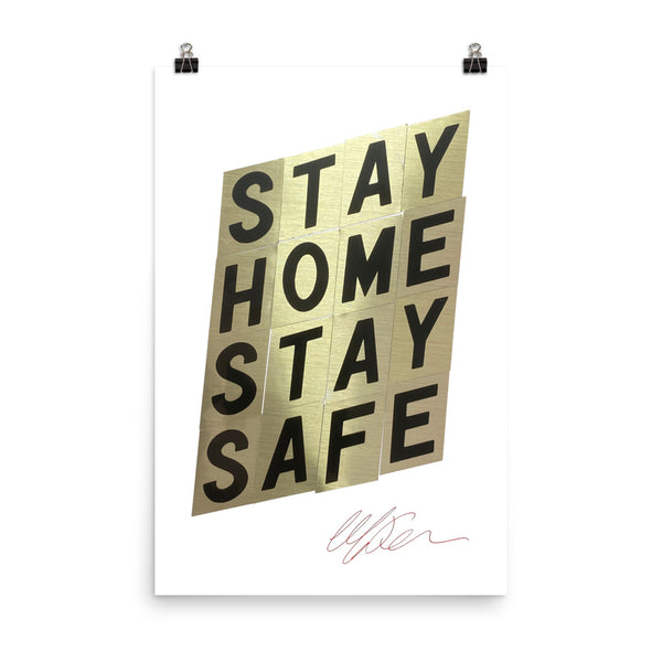 Stay Home, Stay Safe by Mark Kelner
