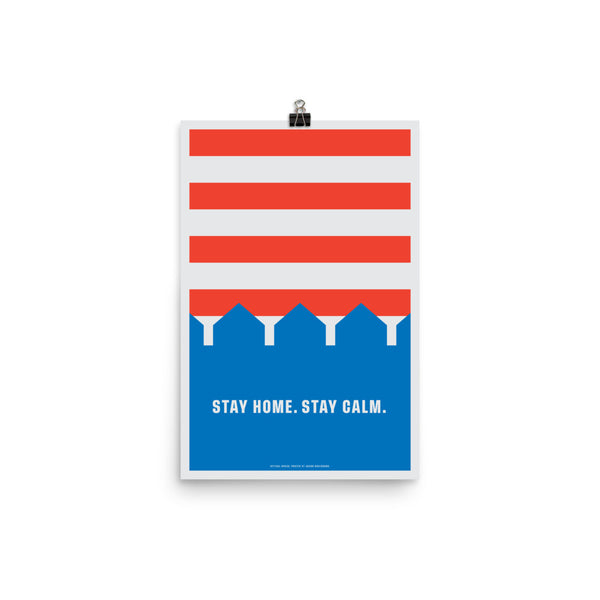 Stay Home. Stay Calm. by Jacob Rosenburg