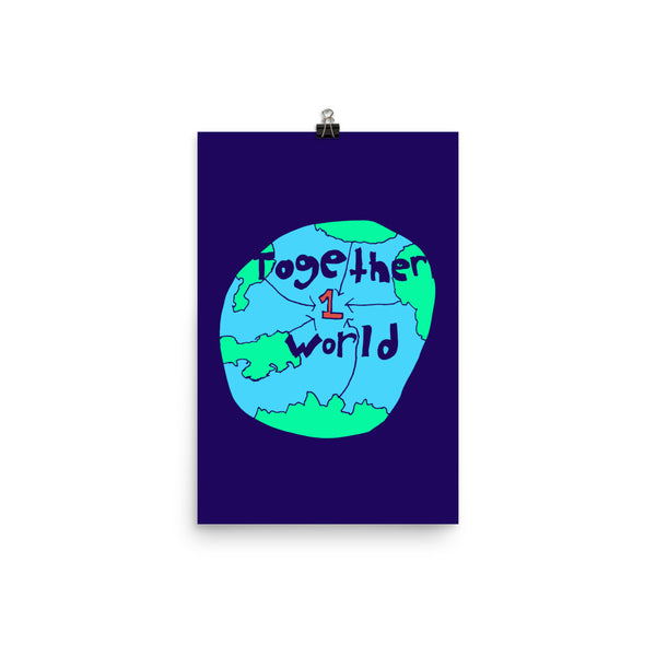 Together 1 World by Luco Peraza (age 8)