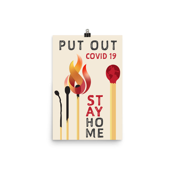 Put Out Covid 19 by Brenna Blenkhorn