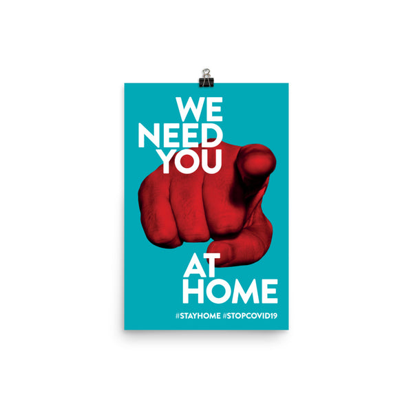 We Need You At Home by Diego Pinilla