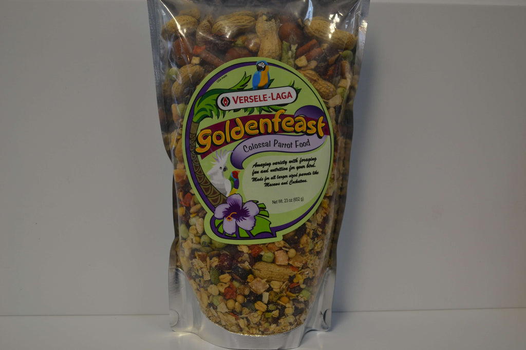 Goldenfeast Colossal Parrot Food - Feathered Follies