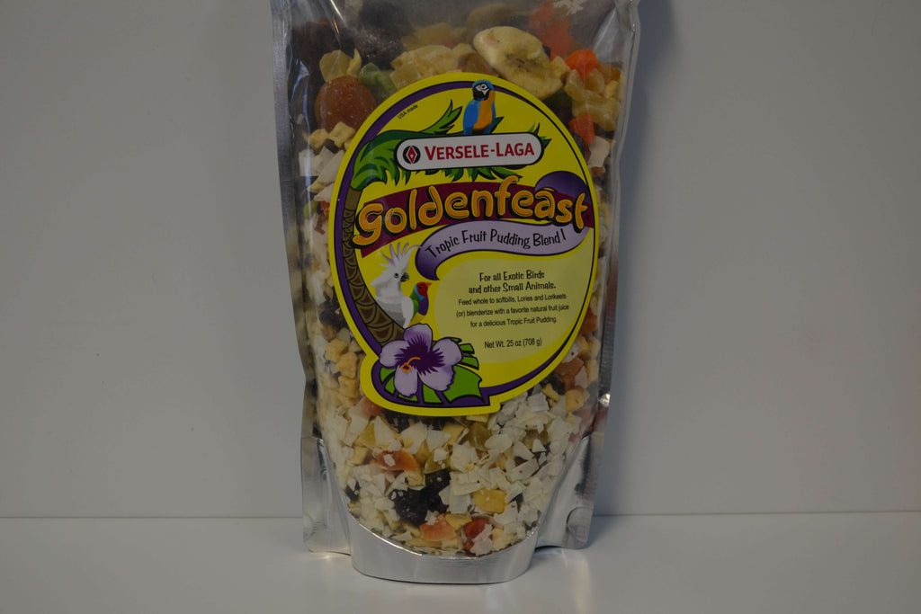 Goldenfeast Tropic Fruit Pudding Blend - Feathered Follies