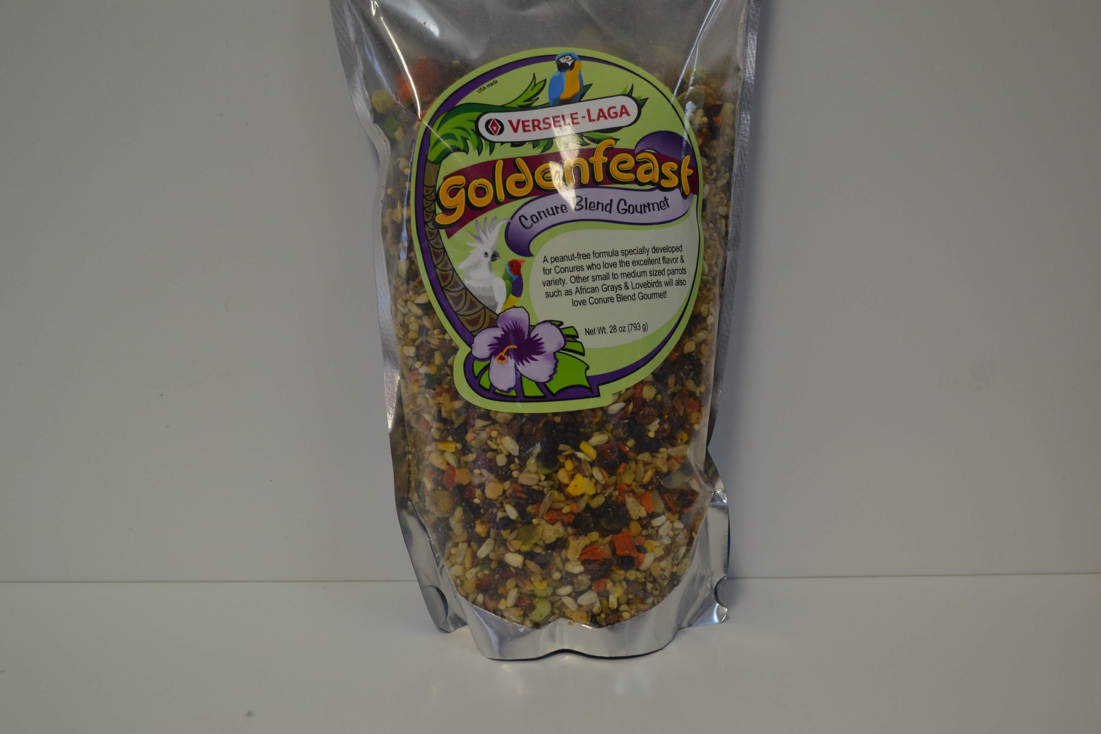 Goldenfeast Conure Blend Gourmet - Feathered Follies