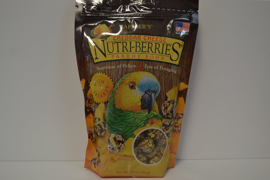 Lafeber's Cheddar Cheese Nutri-Berries - Feathered Follies