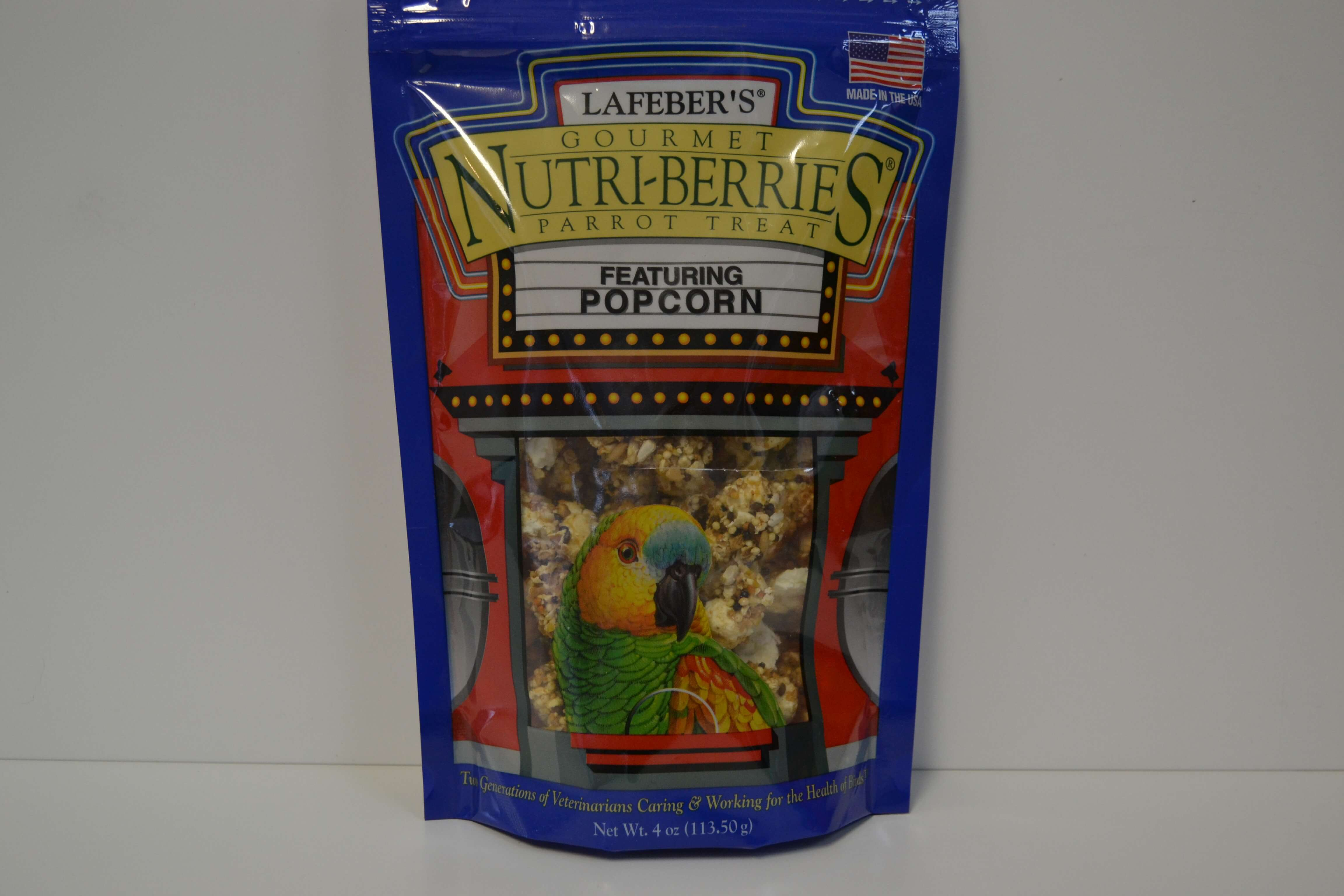 Lafeber's Popcorn Nutri-Berries - Feathered Follies