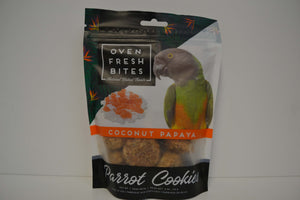 Oven Fresh Coconut Papaya Cookies - Feathered Follies